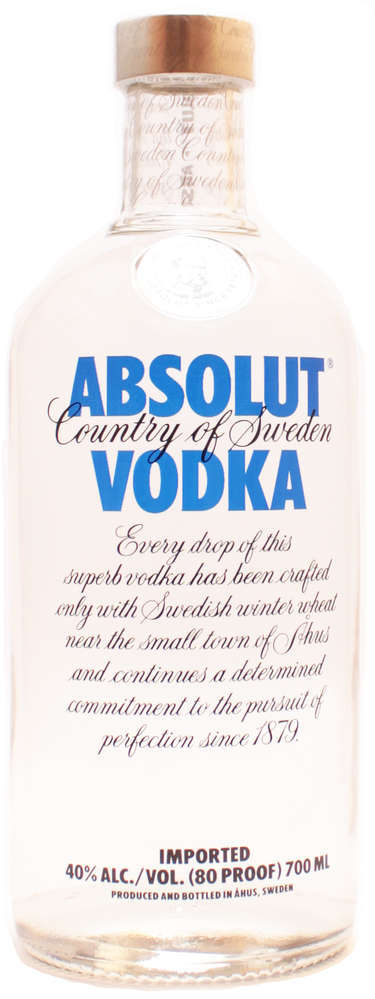 Absolut Vodka 40% 0,70